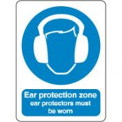 Mandatory Safety Sign - Ear Protection 044